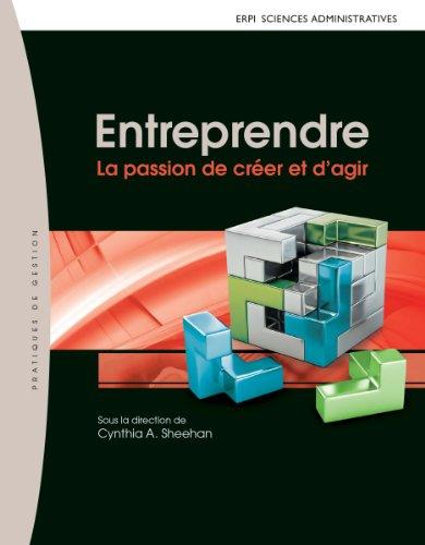 9782761348126: Entreprendre: La passion de créer et d'agir