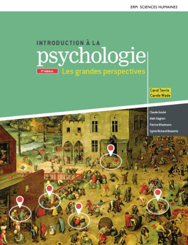 9782761348546: Introduction à la psychologie : Les grandes perspectives