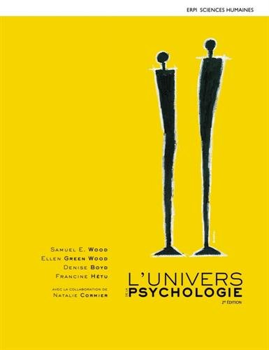 L'UNIVERS DE LA PSYCHOLOGIE 2E + MONLAB: WOOD/GREEN WOOD/BOYD