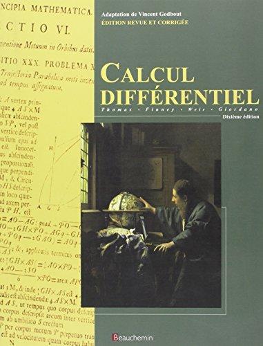 calcul differentiel, manuel (10e edition): n/a