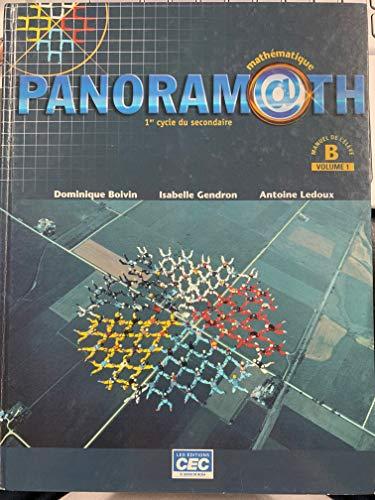 9782761721622: Panoramath- Mathematique Level B Vol.1