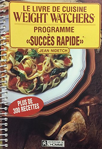 Le Livre De Cuisine Weight Watchers