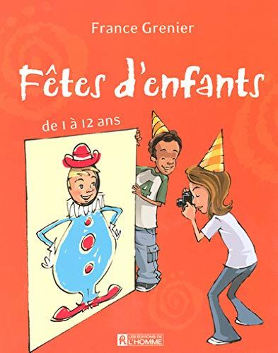 Fêtes d'enfants de 1 à 12 ans: Grenier, France