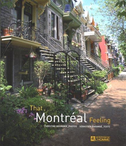 That Montreal Feeling: Christine Bourgier, Sebastien Barange