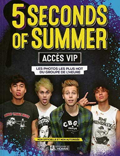 9782761943253: 5 Seconds of Summer - Acc�s V.I.P.