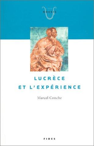 9782762124866: Lucrèce et l'Expérience