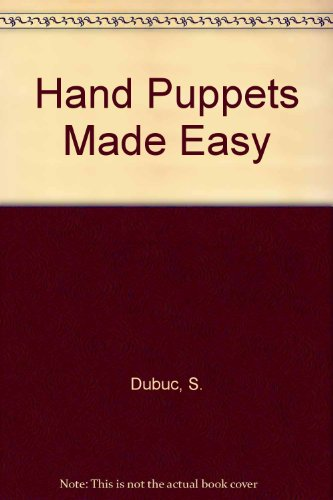 9782762566444: Hand Puppets Made Easy