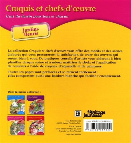 JARDINS FLEURIS -CROQUIS.CHEFS.: Theriault, Anne
