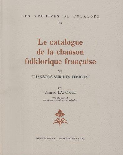 9782763770000: Catalogue chanson folklorique vol 6 # 23 : Timbres