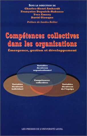 COMPETENCES COLLECTIVES ORGANISATIONS: COLLECTIF