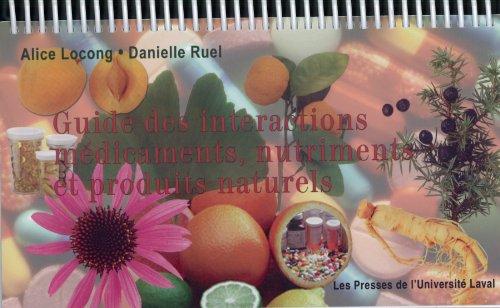 9782763778884: Guide des interactions médicaments-nutriments 2e édition