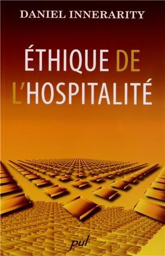 9782763785066: Ethique de l'hospitalité (French Edition)