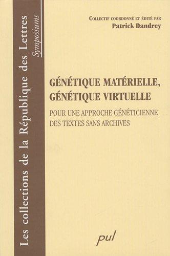 9782763788562: génétique matérielle, génétique virtuelle