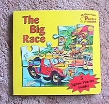 9782764105009: The Big Race (Read-And-Play Puzzle Books)