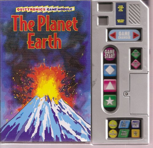 Quiztronics Game Module with The Planet Earth, The Solar System, Amazing Animals, Earth's ...