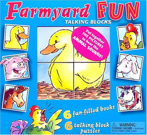 Farmyard Fun Talking Blocks: Chauveau, Dominique