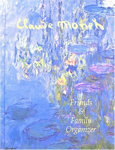 9782764110072: Friends and Family Organizer: Monet Design