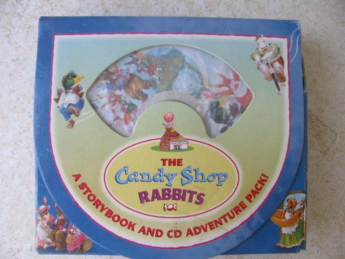 The Candy Shop Rabbits--a Storybook and Cd: Wang Lan