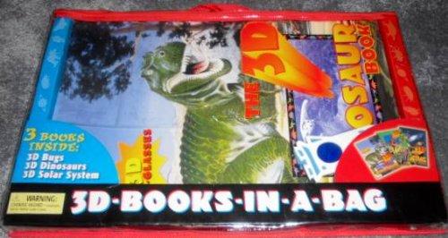 3D-Books-In-A-Bag: 3D Bugs/The 3D Dinosaur Book/The 3D: Tormont Publ., Inc.