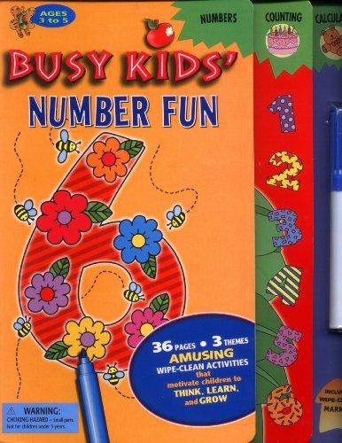 Busy Kids' Number Fun (Wipe-Clean Activities): Gloria Jaramillo