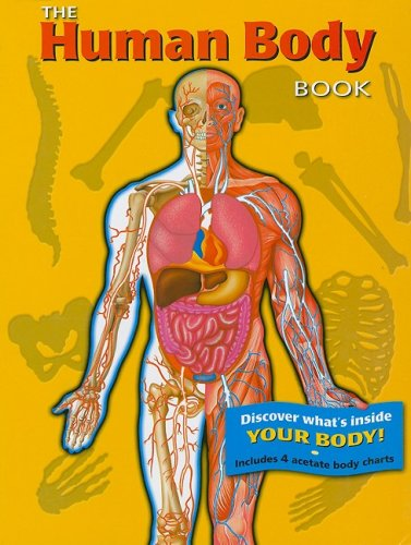 9782764120439: The Human Body Book [With 4 Acetate Body Charts]