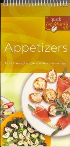 Appetizers (Quick Cooking): Tormont Publications Inc.