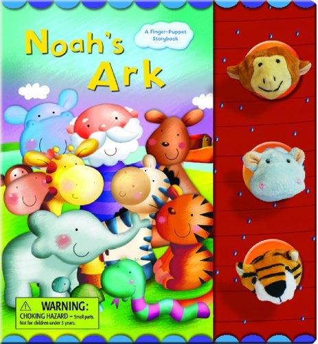 9782764124208: Noah's Ark (Finger Puppet Storybook series)