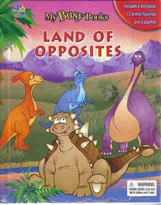 9782764301258: Land of Opposites (My Busy Books)