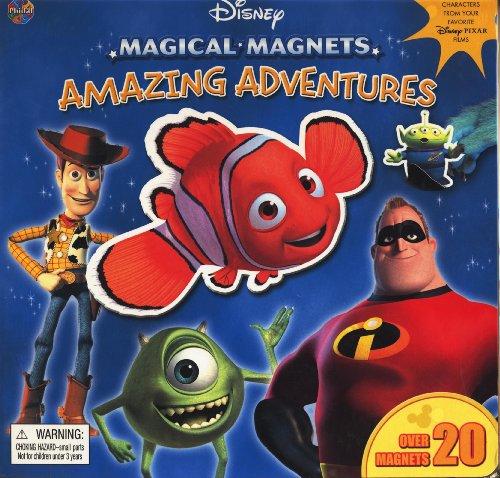 9782764302798: Amazing Adventures (DIsney Magical Magnets)