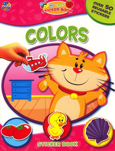 9782764303535: My First Sticker Book ~ Colors