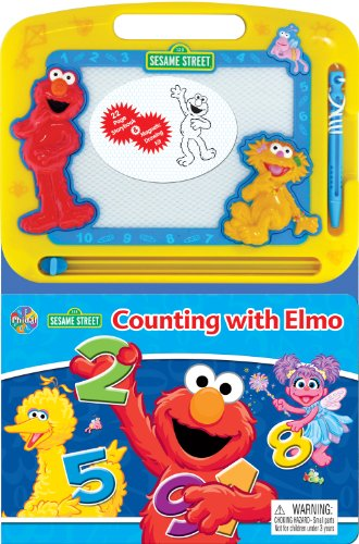 Sesame Street Counting with Elmo Learning Series: Phidal Publishing Inc.