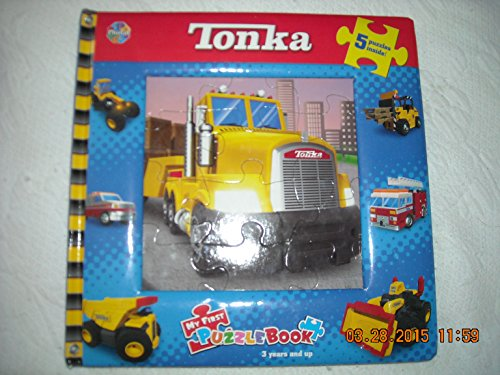 9782764316498: Tonka - Trucks on the Go!: My First Puzzle Book