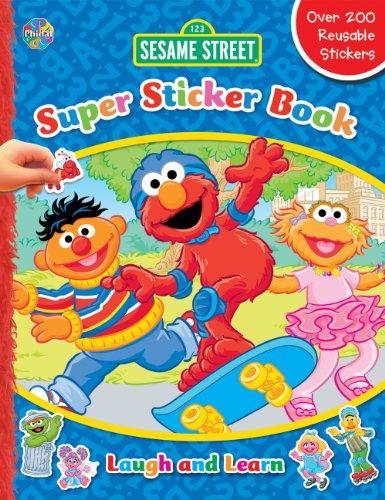 9782764317013: Sesame Street Laugh and Learn Super Sticker Book