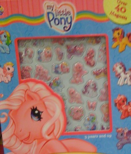 9782764317143: My Little Pony Bubble Magnet Book