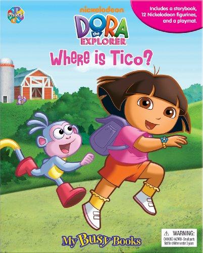 Dora the Explorer - Where is Tico? - Storybook Playset w/ 12 Figures