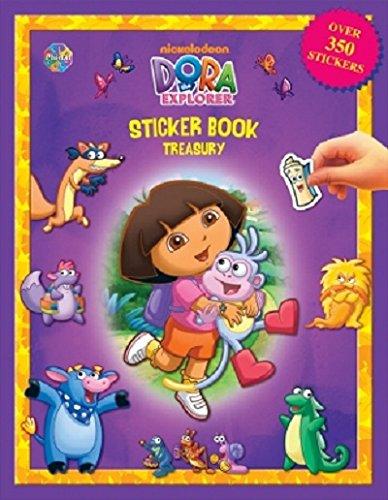 9782764318461: Dora The Explorer Sticker Book Treasury