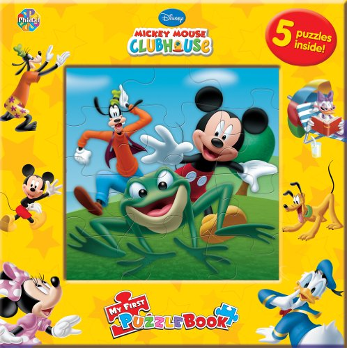 9782764319444: Mickey Mouse Clubhouse: My First Puzzle Book