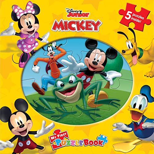9782764319444: Disney Mickey Mouse Clubhouse My First Puzzle Book