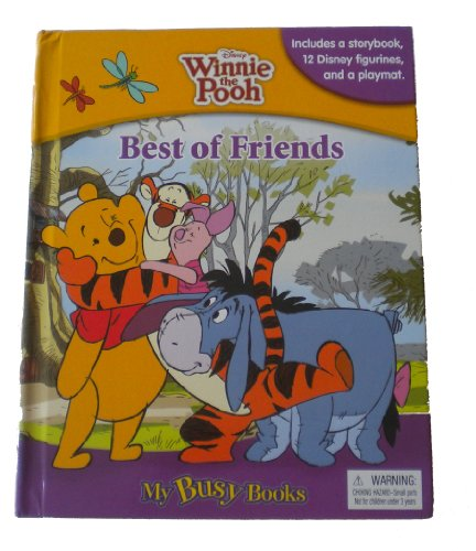 Winnie The Pooh My Busy Books (Best of Friends)