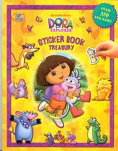 9782764319604: Dora The Explorer Sticker Book Treasury