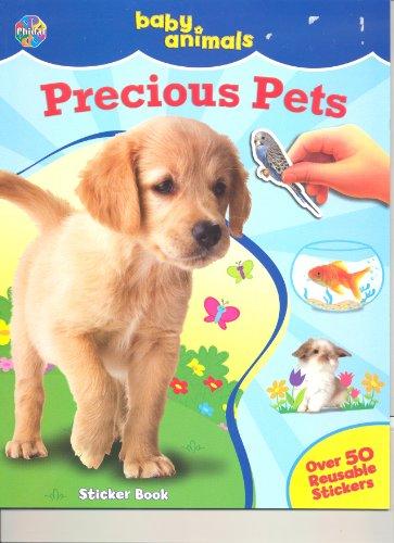 9782764319789: Baby Animals Sticker Book ~ Precious Pets