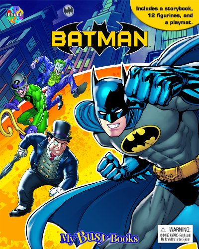 9782764320761: Batman My Busy Books: - English Edition