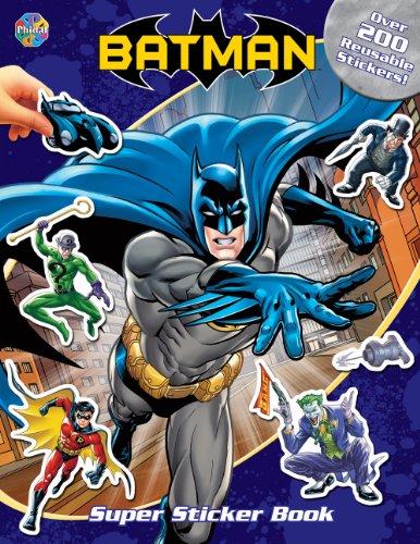 Batman Super Sticker Book: Phidal Publishing Inc.