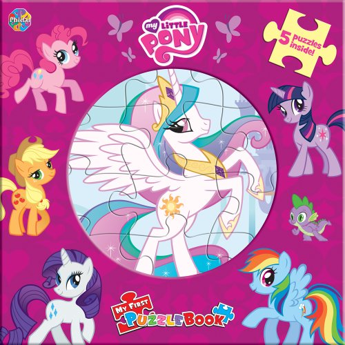 9782764320860: My Little Pony My First Puzzle Book