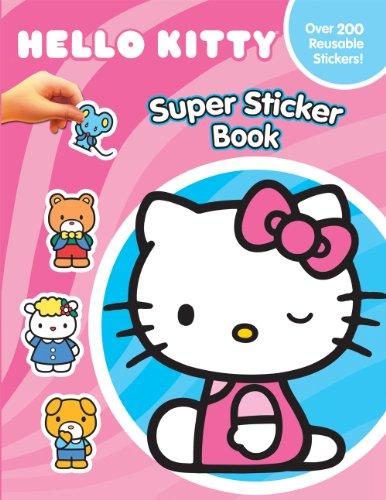 9782764321553: Hello Kitty Super Sticker Book