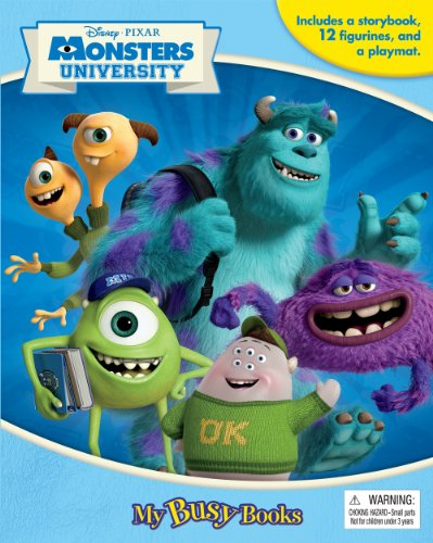 Disney pixar monsters university my busy book phidal for Monster advanced search