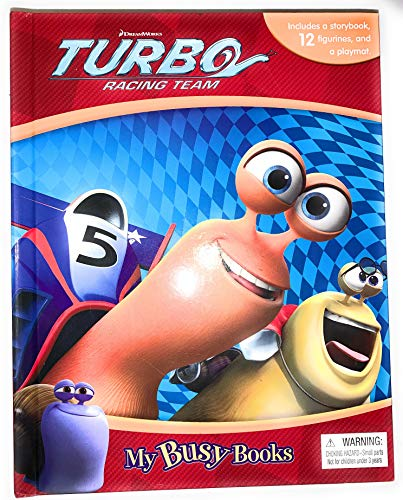 DreamWorks Turbo Racing Team My Busy Books: n/a