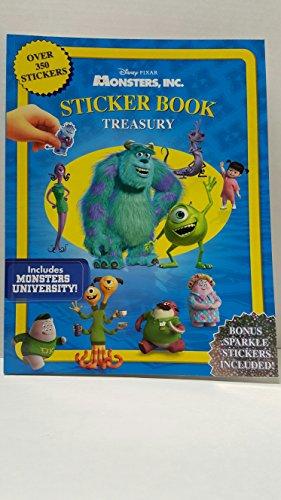 Disney & Pixar Monsters INC Sticker Book: n/a