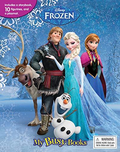 9782764323519: Disney Frozen My Busy Book