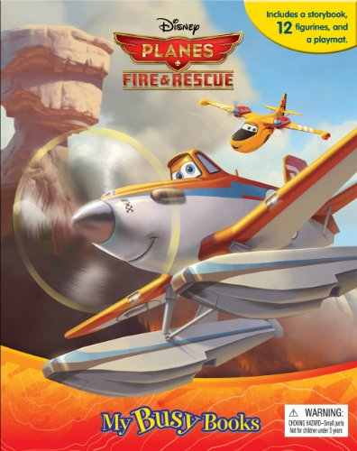 9782764324844: Disney Planes Fire & Rescue My Busy Book